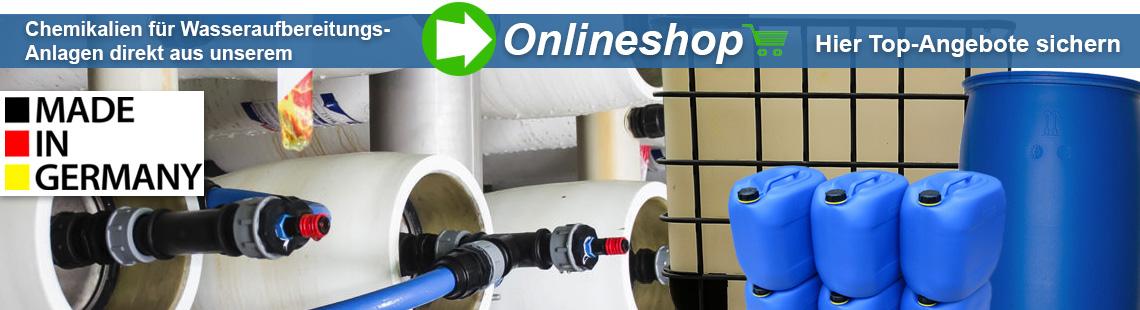 Chemikalien zur Wasseraufbereitung UVT Onlineshop