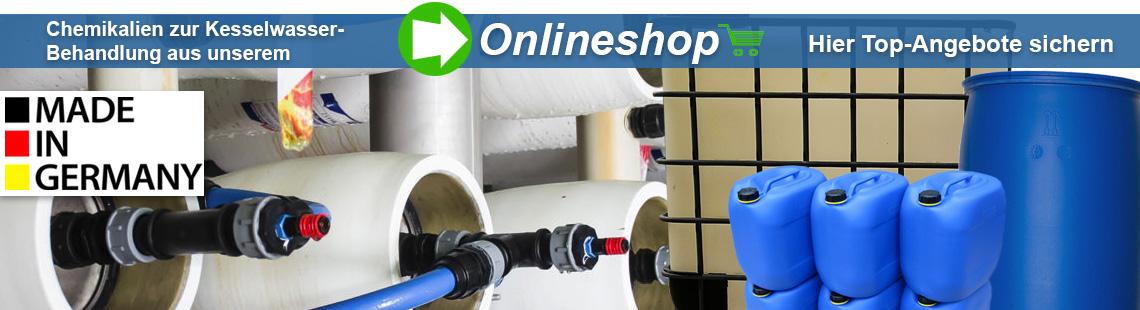 Kesselwasserbehandlung Chemikalien UVT Onlineshop